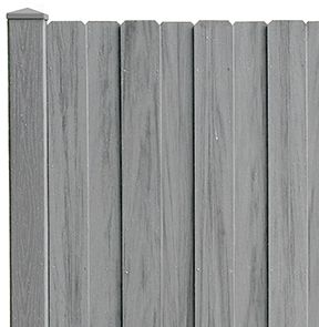 Board on Board PVC Privacy Fence