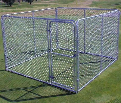 Chain Link Steel Fence Kennel