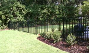 Decorative Residential Aluminum Fence