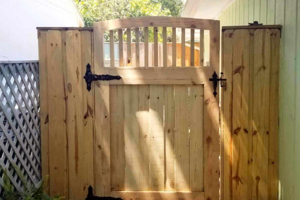 Wood Walk-through Gate