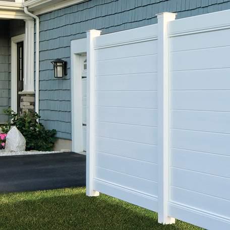 Bufftech Brookline PVC Fence