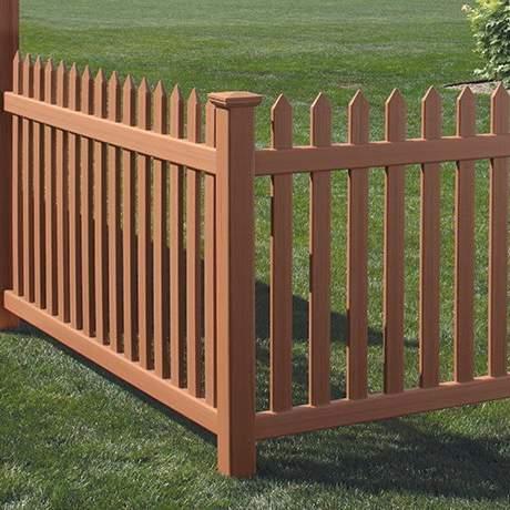 Danbury PVC Fence