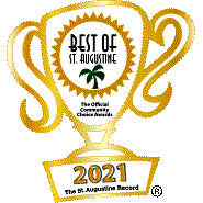 Voted Best of St Augustine 2021